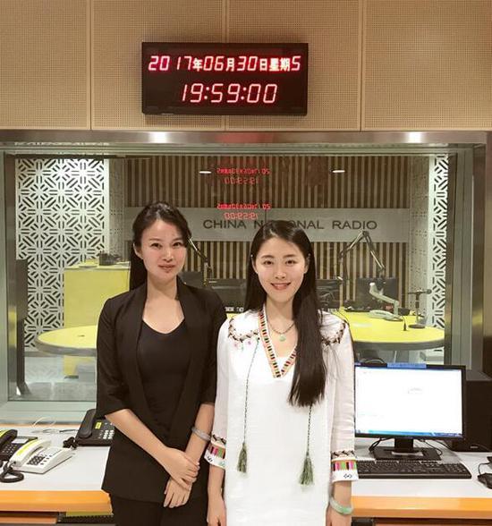 赵彬砚做客中央人民广播电台 聊专辑聊人生感悟