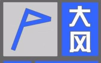 """天气突""""变脸"""" 29个市县发布大风蓝色预警"""