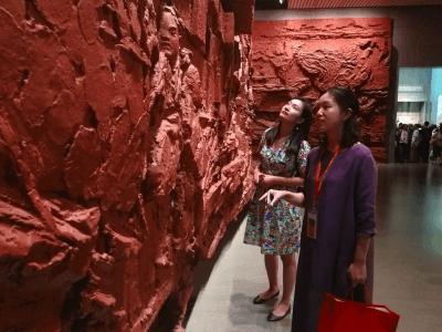 研修班学员到中国国家博物馆参观展览