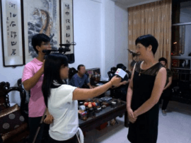 母亲节新闻栏目组特别专访 一幕幕感动画面呈现