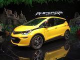 2016巴黎车展:续航里程或为322km 欧宝Ampera-e正式发布