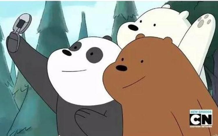 美国卡通咱们裸熊又名熊熊三贱客第3季将播 萌熊融入人类社会