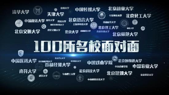 中国教育电视台《直通高招》大型直播 与百所名校面对面