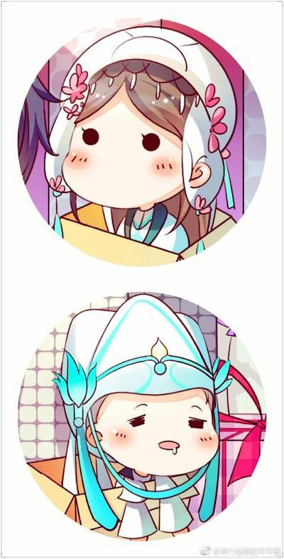可爱的小包子脸 剑网3一波q版头像来袭