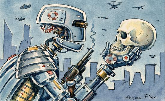 """将AI用于武器研发?德国承诺不使用""""机器人杀手"""""""