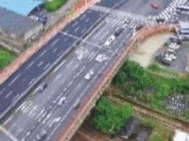 长沙市劳动路京广铁路跨线桥竣工