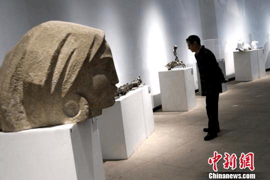 第四届今日丝绸之路国际美术邀请展开幕