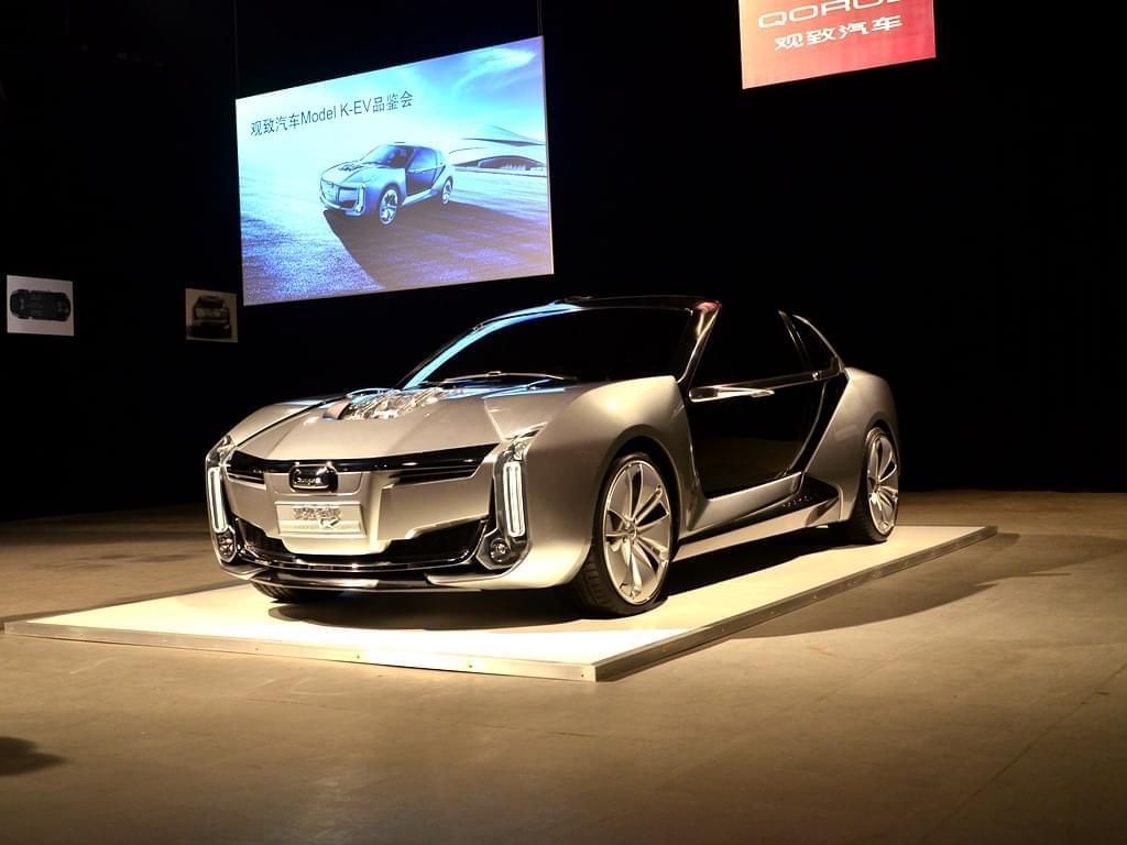 非对称式设计 观致Model K-EV概念车亮相
