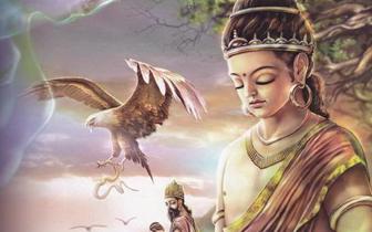 佛教典故:佛陀割肉喂鹰