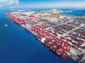 洋山港4期年底试运行 为世界最大自动化集装箱码头