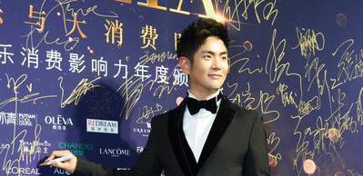 张晓龙获年度风尚质感男演员