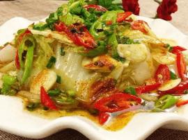 白菜这样做 给一顿火锅都不换 口感鲜辣 入口即化