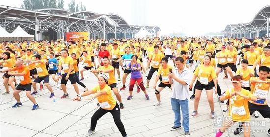 """北京奥森收官之站 """"我是跑者""""圆满落幕"""