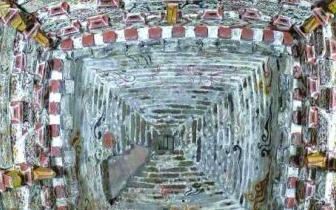 """山西发现金代壁画墓 墓顶""""升天图""""清晰"""