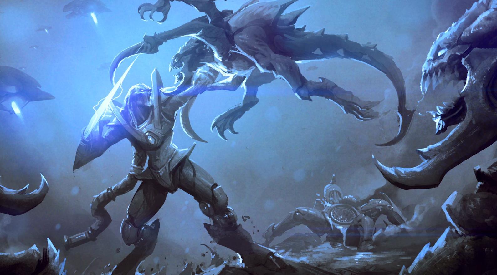 《星际争霸》龙骑士重回战场:菲尼克斯将加入《风暴英雄》