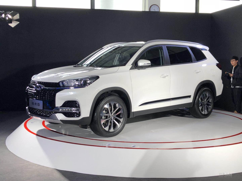 品牌新旗舰SUV 奇瑞瑞虎8今晚公布预售价