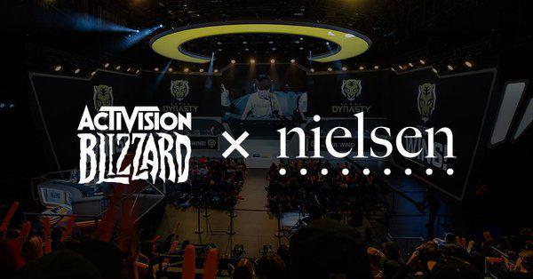 动视暴雪与尼尔森公司合作,深入评估旗下电竞品牌
