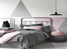 卧室壁纸营造一夜好睡眠