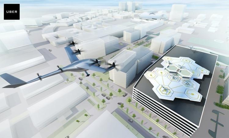 """Uber研发""""飞行汽车""""服务 2024年投入商业运营"""