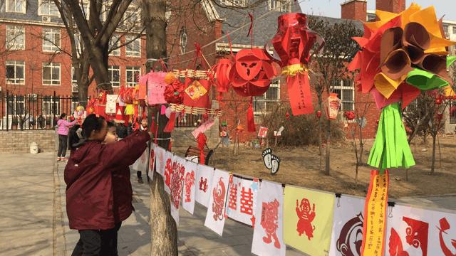 石家庄市国际城小学举办民俗展