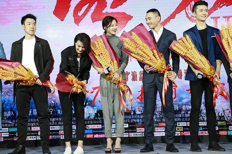 《绣春刀·修罗战场》首映 辛芷蕾执七心亮底牌