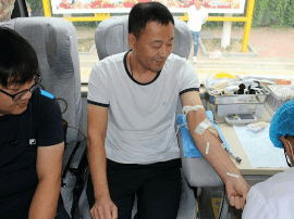 无偿献血 奉献爱心 山海关开展第二次无偿献