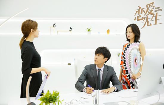靳东、江疏影、辛芷蕾
