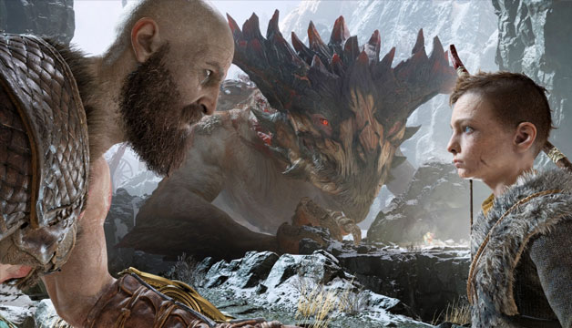 PS4版《战神》2018年4月20日发售!奎爷带娃游北欧