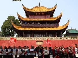 踏访国学文化 天问将课堂搬到塞北江南