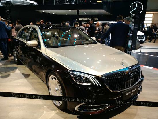 双色车身设计 新款迈巴赫S 680预售330万