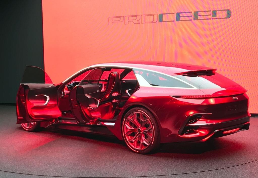 欧洲中型设计 起亚Proceed概念车发布