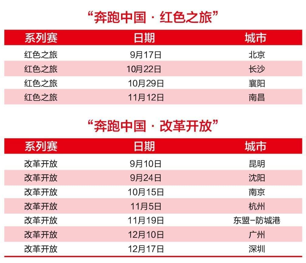 """""""奔跑中国-改革开放""""之旅 9月10日春城起跑"""