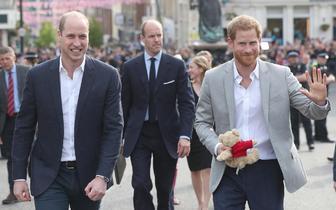 哈里王子大婚 皇室成员前往彩排现场