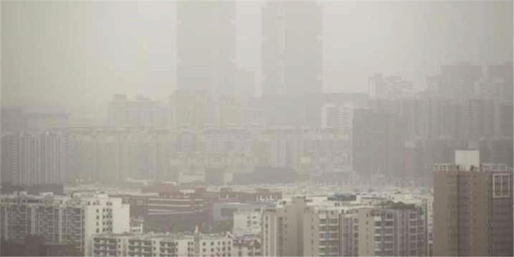 """沙尘天来了!郑州空气质量指数""""爆表"""""""