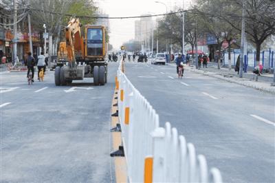 银川胜利南街换新颜  缓解交通拥堵问题