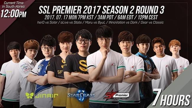 星际2:SSL2017第二赛季Premier比分专题