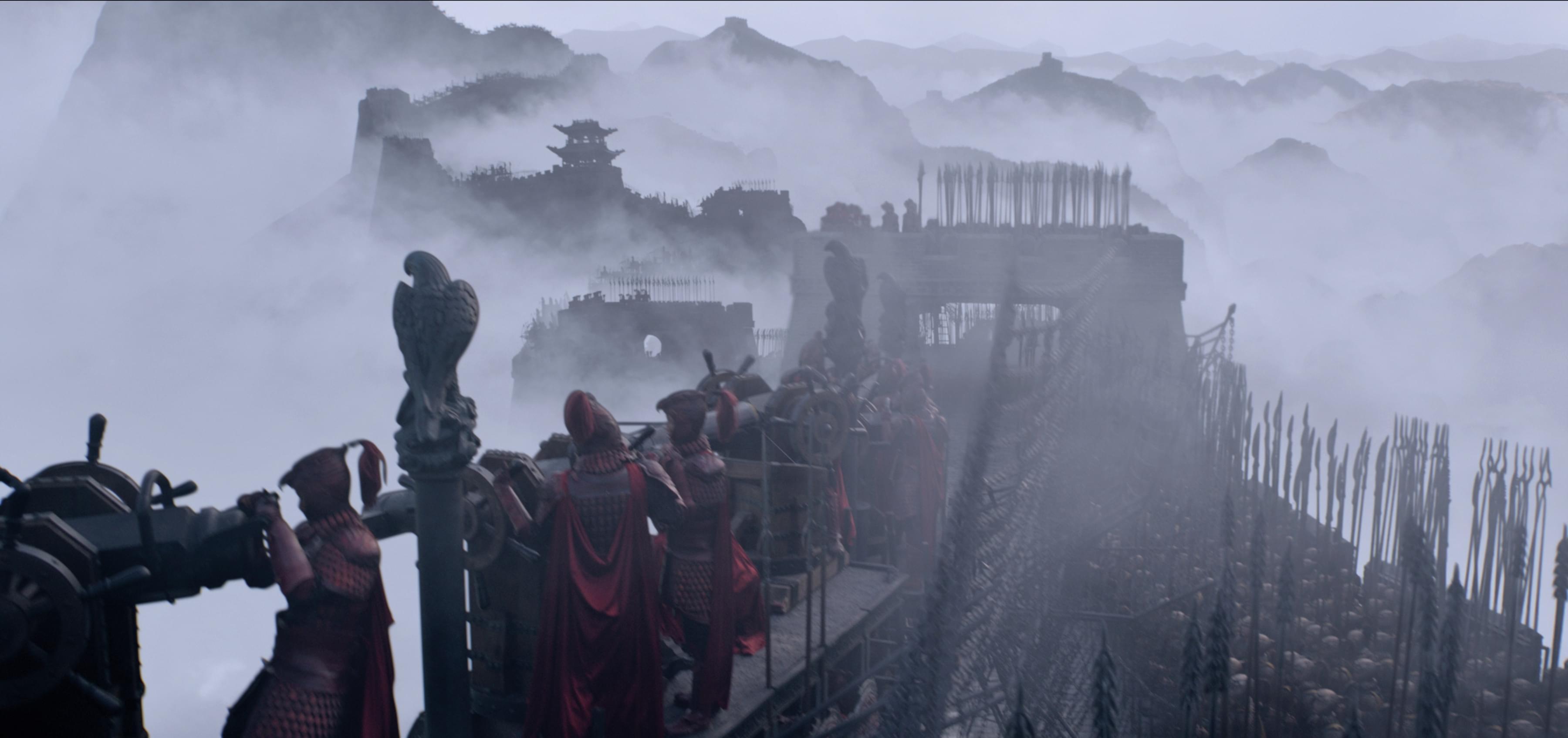 """年度电影之最《长城》""""弹幕绿军""""迎十万饕餮"""