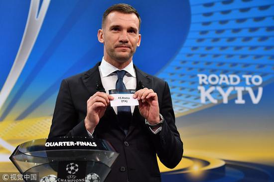 欧冠抽签:尤文VS皇马 巴萨VS罗马 利物浦战曼城