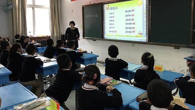 国小第二学期教师教学专业化梯队建设活动(四)