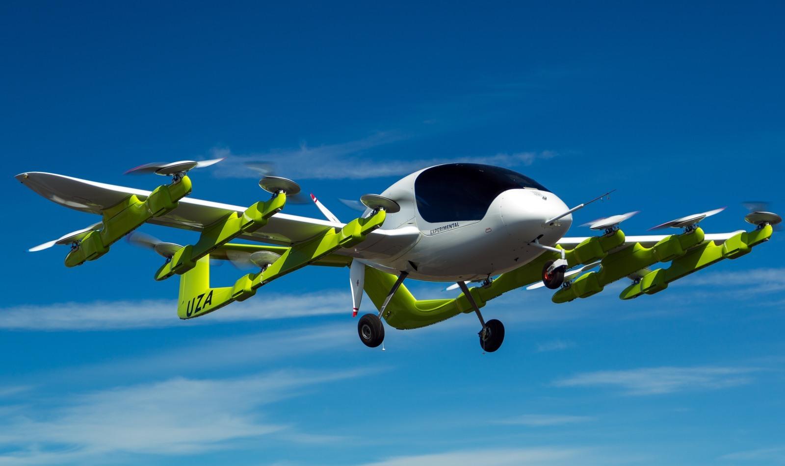 """谷歌创始人投资的""""飞行出租车""""在新西兰试飞"""