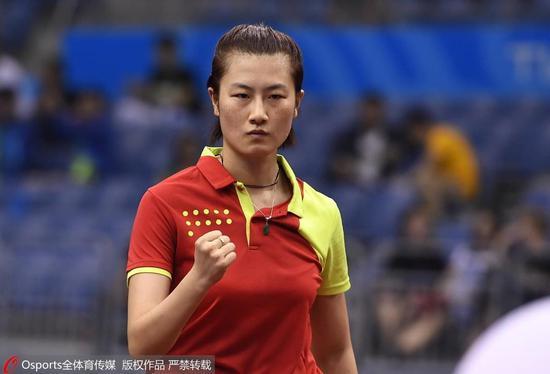 丁宁拿两分擒朱雨玲仍难救主 北京无缘女团决赛