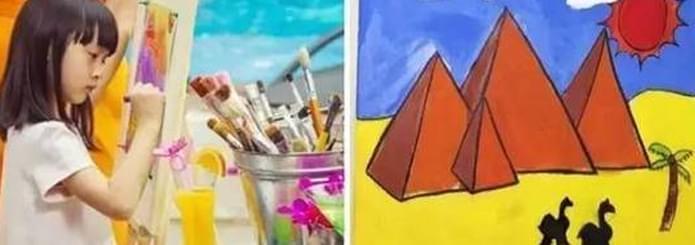 很多明星送孩子去学画画黄晓明会送小海绵去吗?