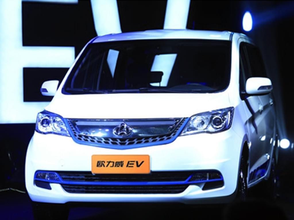 纯电续航252km 长安发布欧力威EV车型