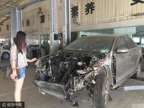 """车主不在4S店修车 被收5000元""""公估费"""""""