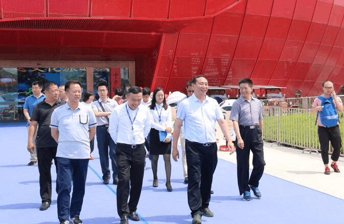 中直机关党校、重庆市体育局赴重庆万达城调研