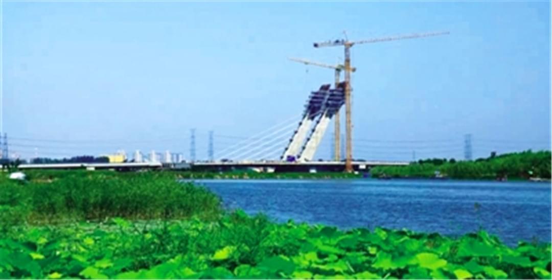 郑州再添新地标 这座贾鲁河大桥创亚洲之最