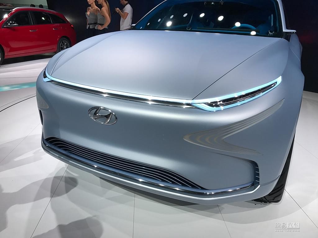 2017日内瓦车展:现代FE Fuel Cell概念车