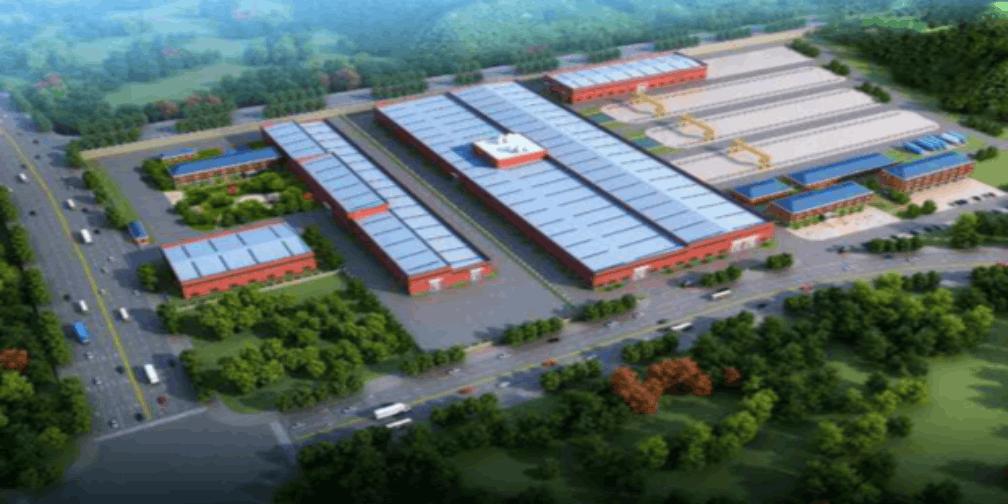 中国铁建包头高端装备制造基地项目开工(附图)