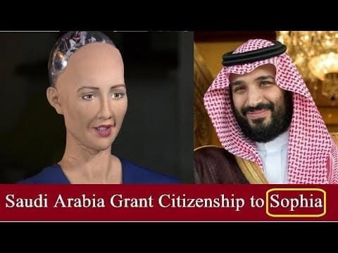 """沙特""""公民""""索菲亚"""