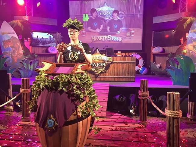 《炉石传说》泰国大奖赛落幕:OMXHope夺冠